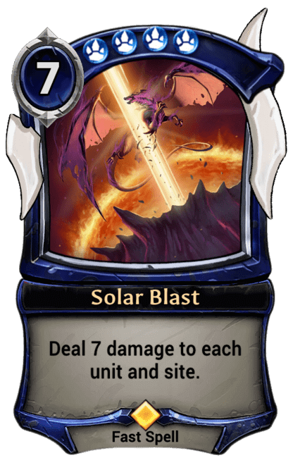 Card image for Solar Blast