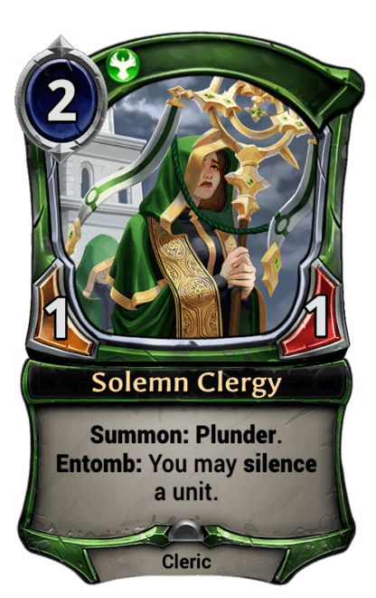 Card image for Solemn Clergy