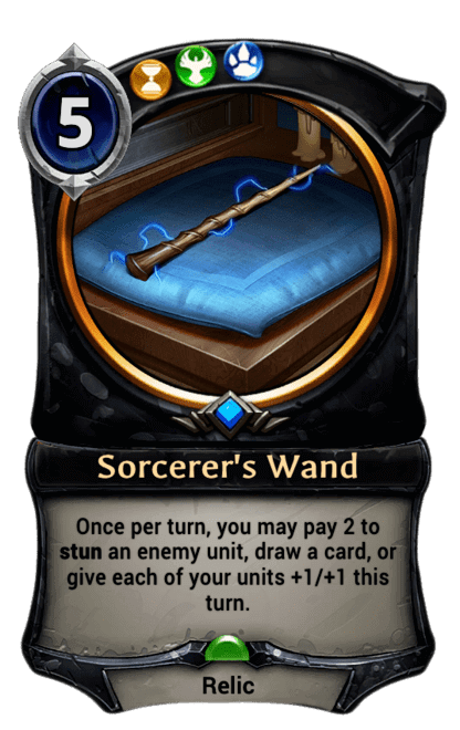 Card image for Sorcerer's Wand