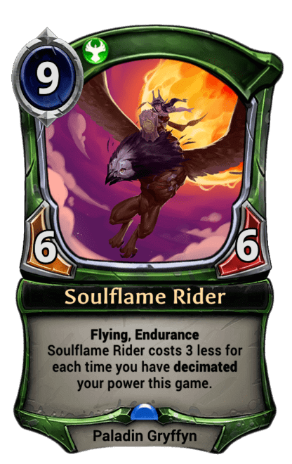 Card image for Soulflame Rider