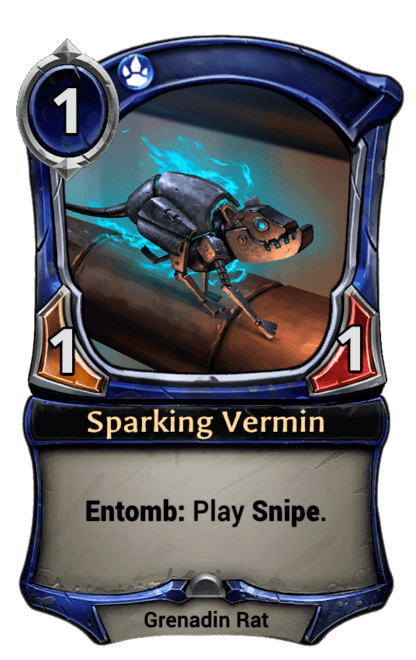Card image for Sparking Vermin
