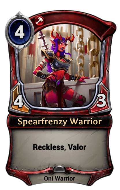 Card image for Spearfrenzy Warrior