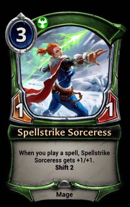 Card image for Spellstrike Sorceress