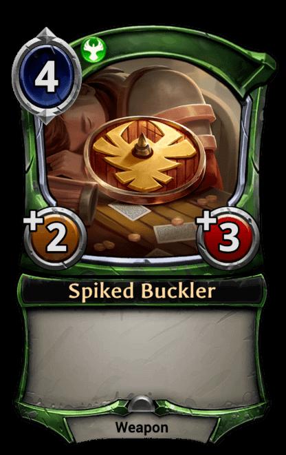 Card image for Spiked Buckler