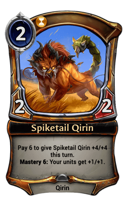 Card image for Spiketail Qirin