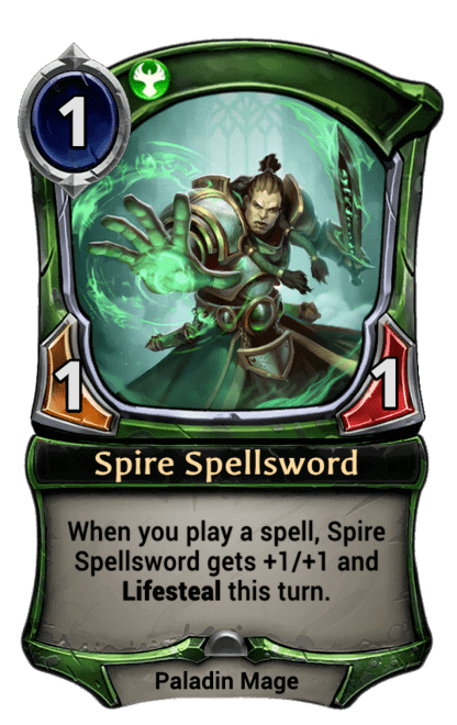 Card image for Spire Spellsword