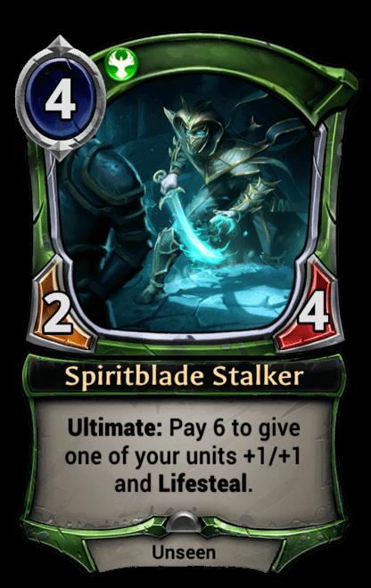 Card image for Spiritblade Stalker