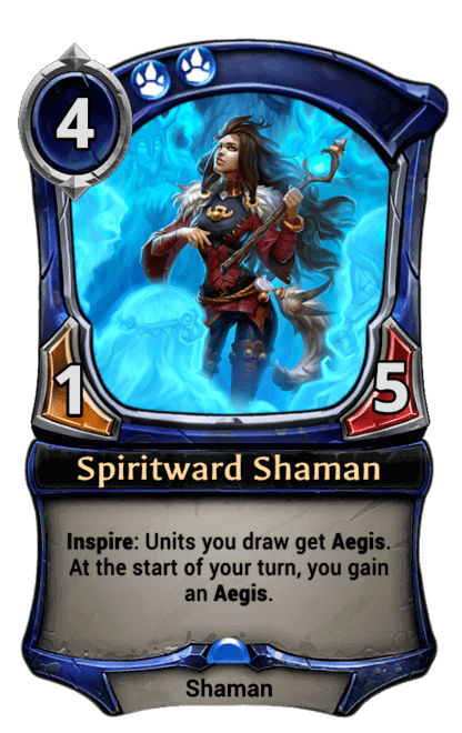 Card image for Spiritward Shaman