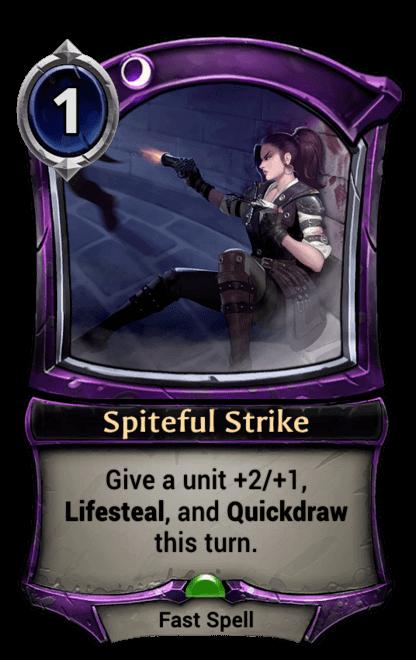 Card image for Spiteful Strike