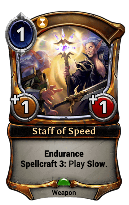 Card image for Staff of Speed