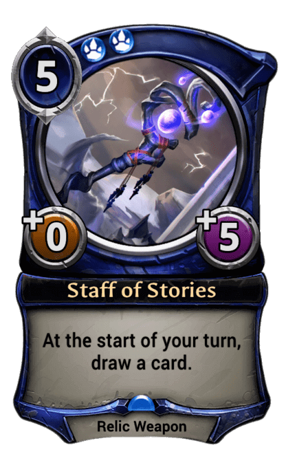 Card image for Staff of Stories