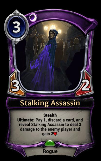 Card image for Stalking Assassin