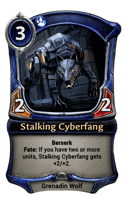 Card image for Stalking Cyberfang