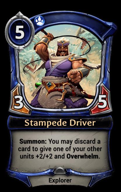Card image for Stampede Driver