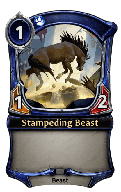 Card image for Stampeding Beast