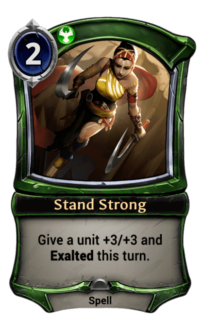 Card image for Stand Strong