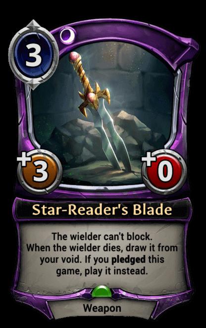 Card image for Star-Reader's Blade