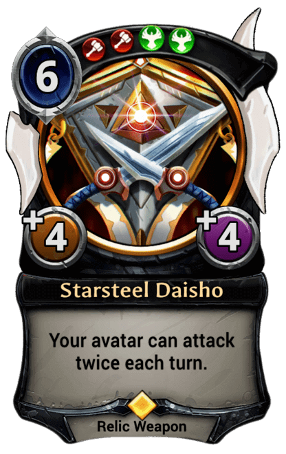 Card image for Starsteel Daisho