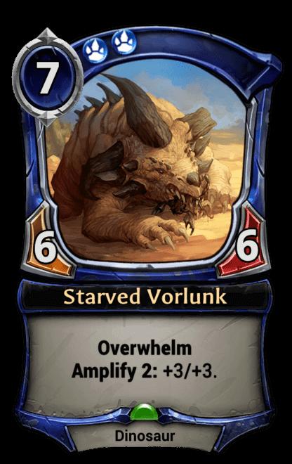 Card image for Starved Vorlunk