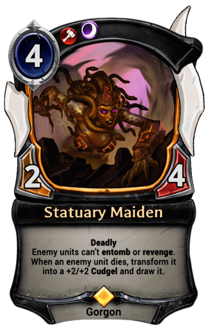 Card image for Statuary Maiden