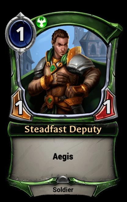 Card image for Steadfast Deputy