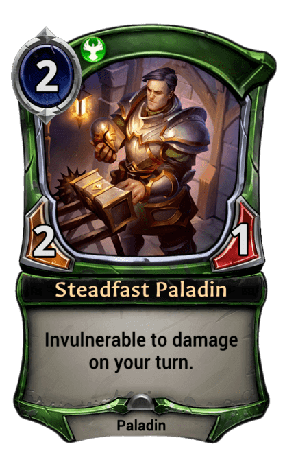 Card image for Steadfast Paladin