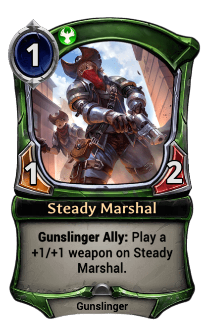 Card image for Steady Marshal