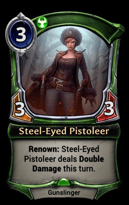 Card image for Steel-Eyed Pistoleer