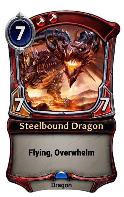 Card image for Steelbound Dragon