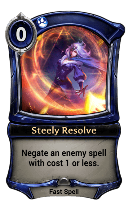 Card image for Steely Resolve