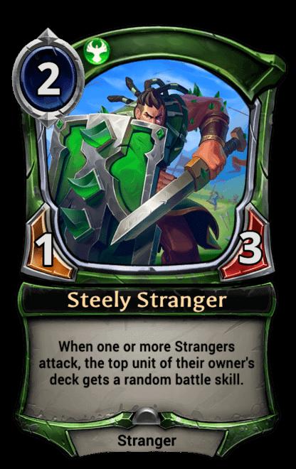 Card image for Steely Stranger