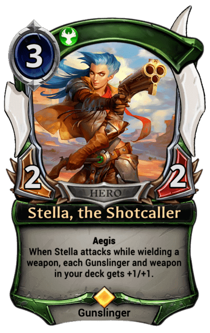 Card image for Stella, the Shotcaller