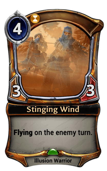 Card image for Stinging Wind