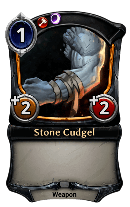 Card image for Stone Cudgel