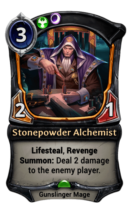 Card image for Stonepowder Alchemist