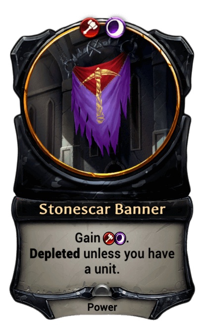 Card image for Stonescar Banner