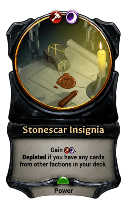 Card image for Stonescar Insignia