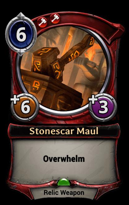 Card image for Stonescar Maul