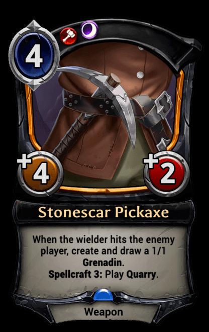 Card image for Stonescar Pickaxe