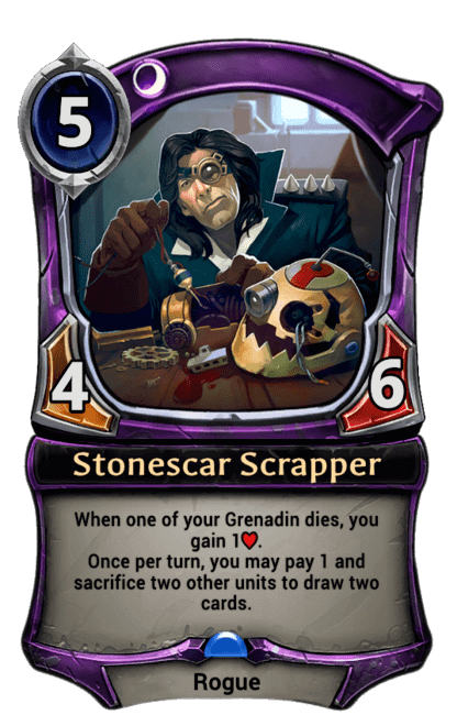 Card image for Stonescar Scrapper