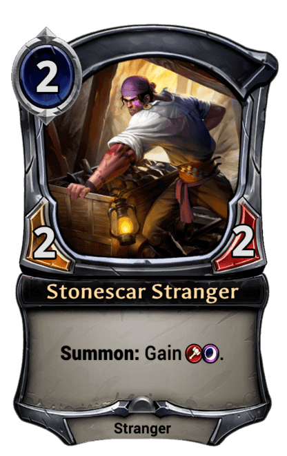 Card image for Stonescar Stranger