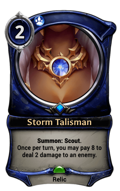 Card image for Storm Talisman
