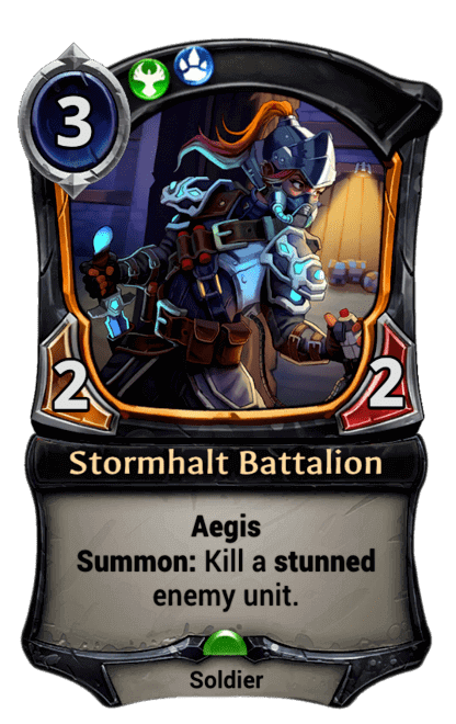 Card image for Stormhalt Battalion