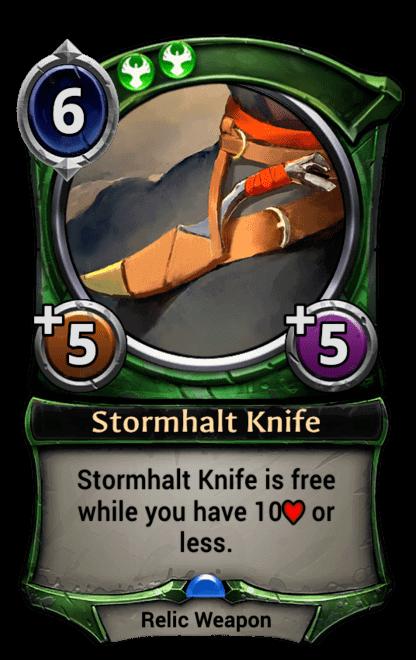 Card image for Stormhalt Knife