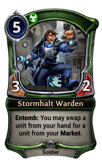 Card image for Stormhalt Warden