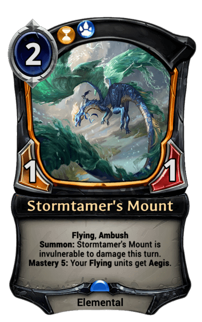Card image for Stormtamer's Mount