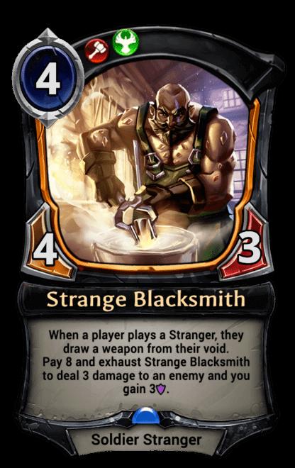Card image for Strange Blacksmith