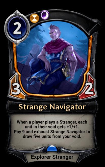 Card image for Strange Navigator