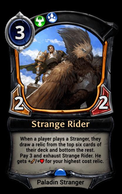 Card image for Strange Rider
