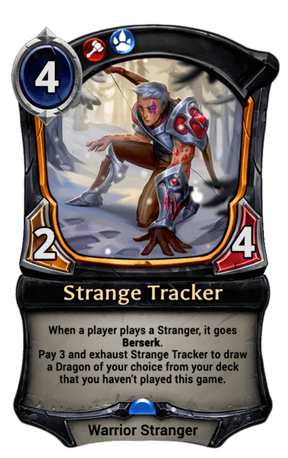 Card image for Strange Tracker